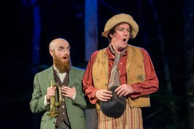 """Door Shakespeare: """"Much Ado About Nothing"""" (Photo: Heidi Hodges)"""